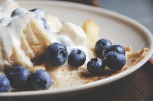 arándanos - desayuno